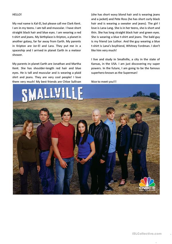 Smallville movie session for teens