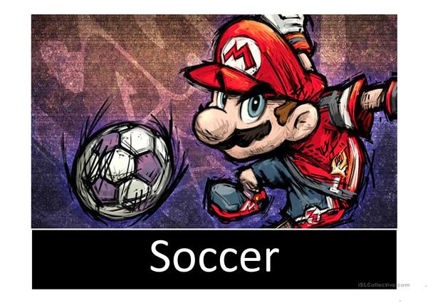 Sports with Mario
