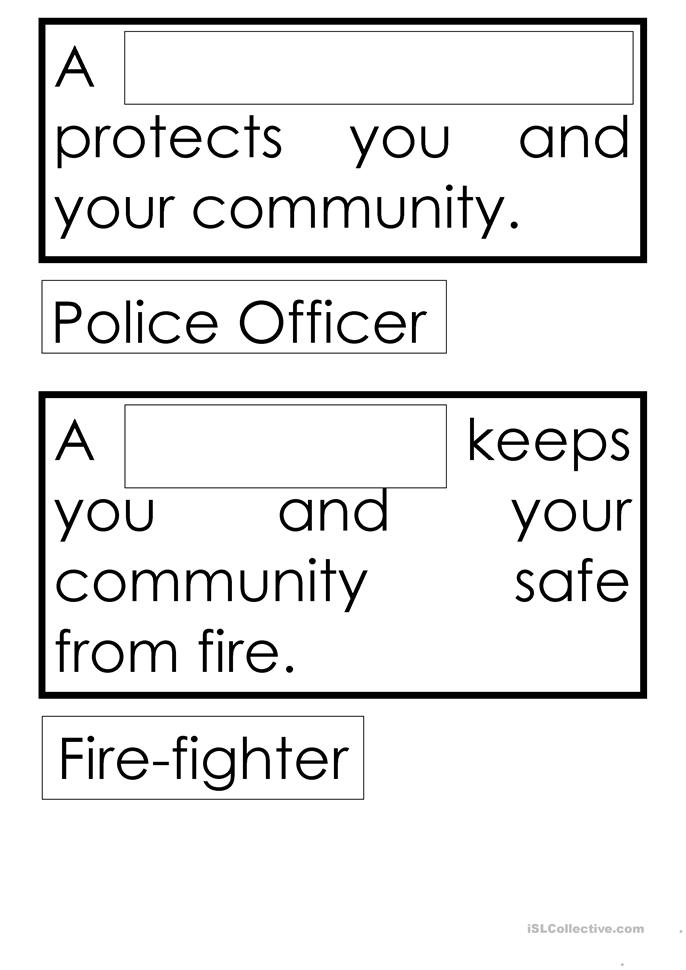 Worksheet Free Community Helpers Worksheets 10 free esl community helpers worksheets helpers