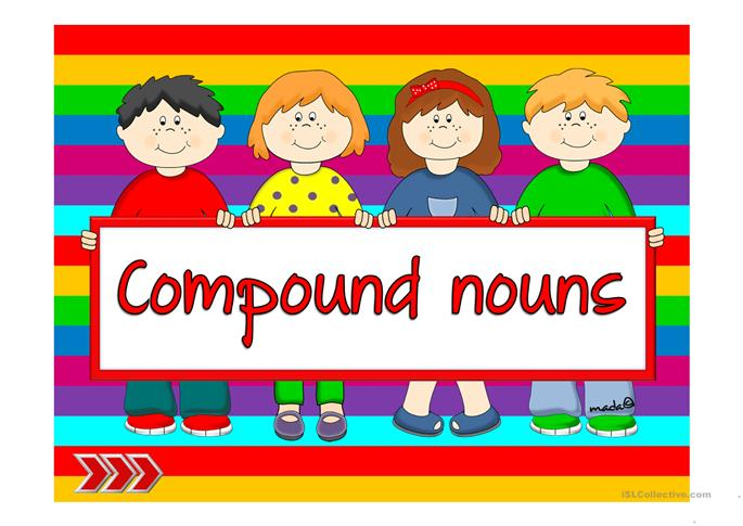 Compound nouns worksheet - Free ESL projectable worksheets made by ...