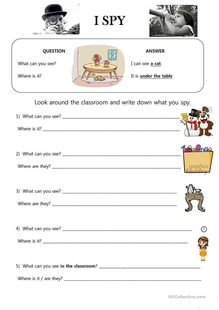 It is a photo of Dashing I Spy Printable Worksheets
