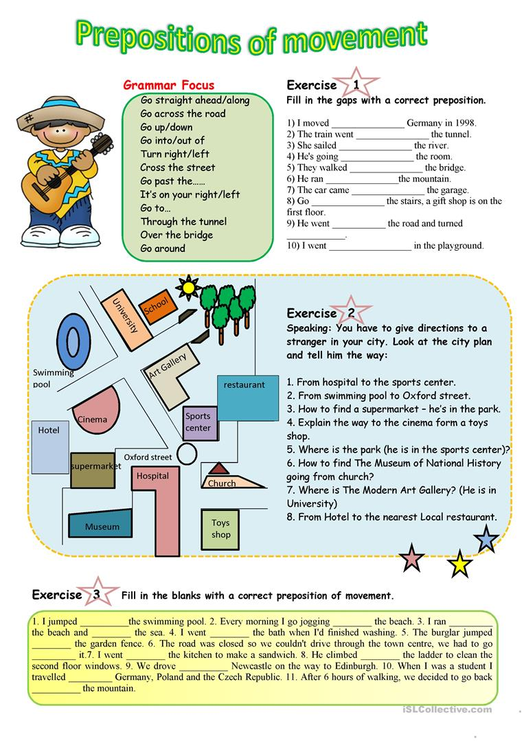 prepositions of movement worksheet free esl printable worksheets made by teachers. Black Bedroom Furniture Sets. Home Design Ideas