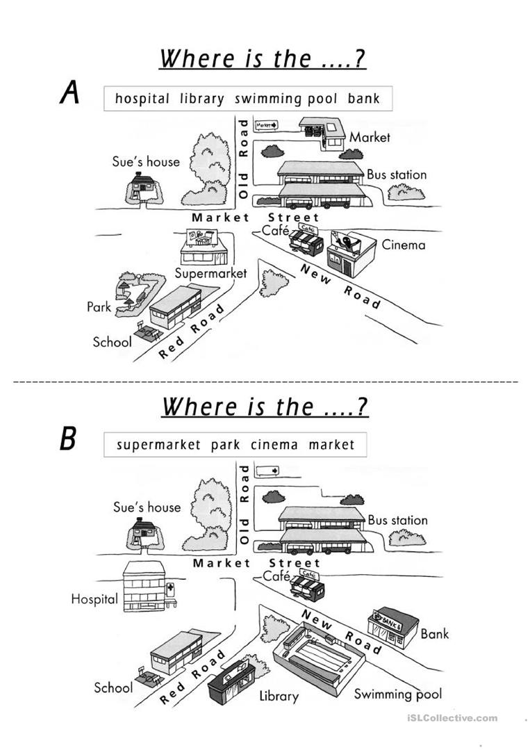 Where Is the ?