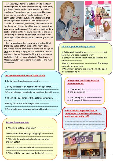 A funny story worksheet - Free ESL printable worksheets made by teachers
