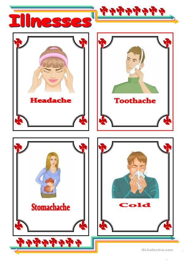 common illnesses flashcards