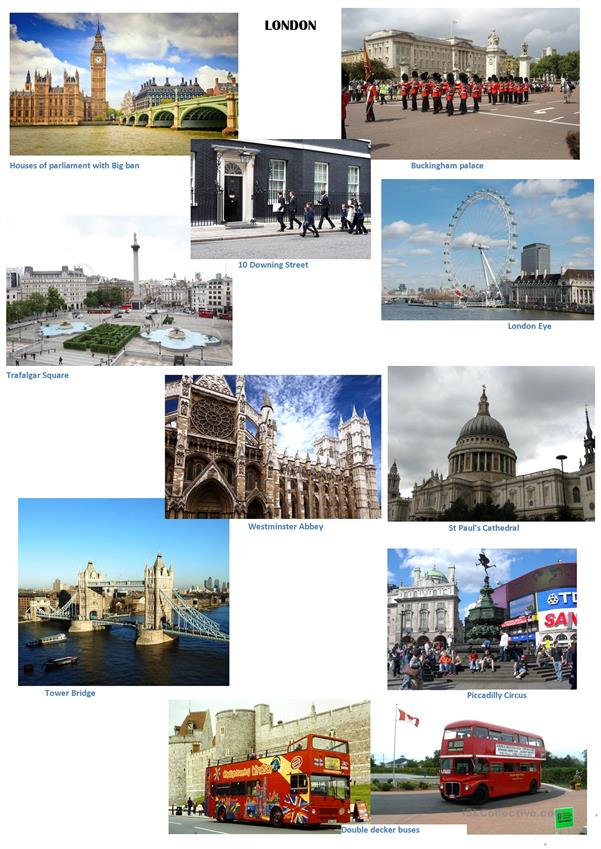 london picture dictionary