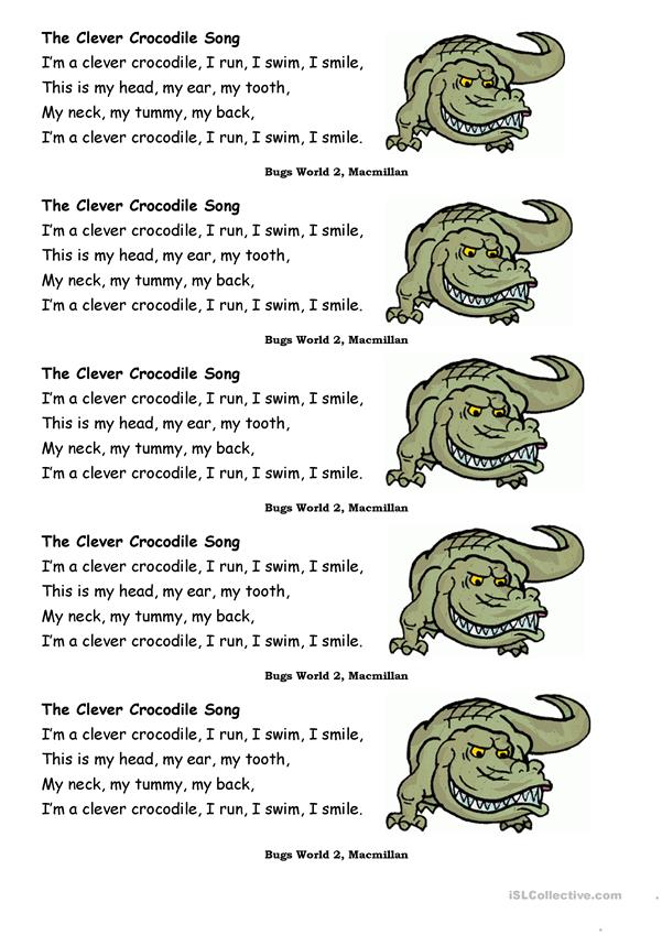 The Clever Crocodile Song