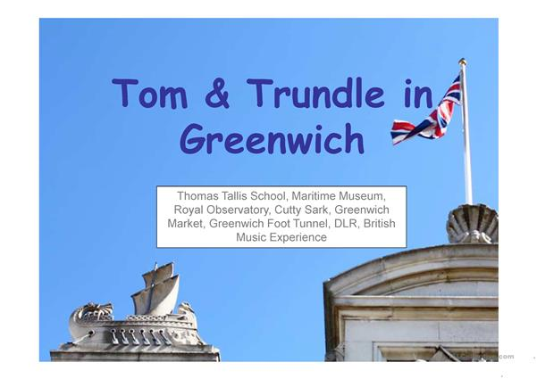 Tom & Trundle in Greenwich