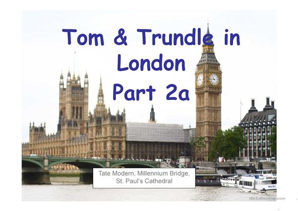 Tom & Trundle in London Part 2 English - German