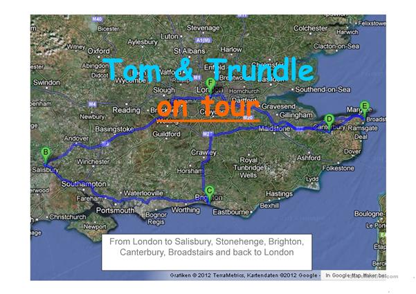 Tom & Trundle on Tour
