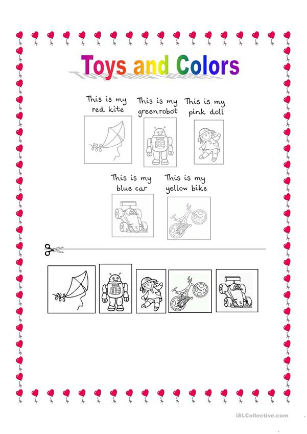 Toys and colors