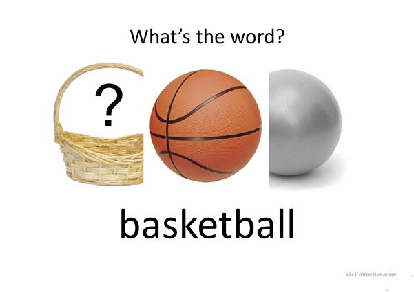 What's the word (vocabulary)