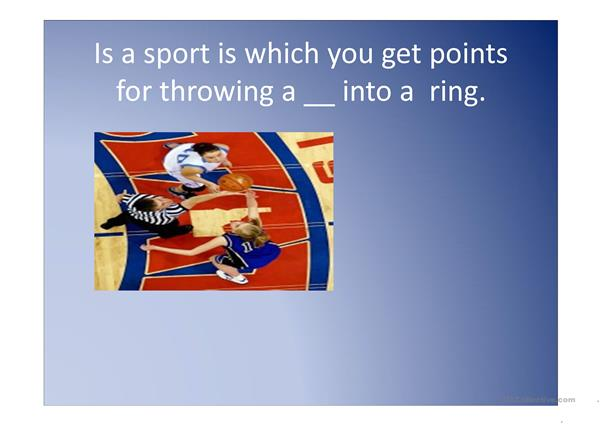 What's your favorite sports ppt.