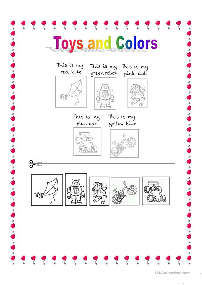 toys and colors worksheet free esl printable worksheets made by teachers. Black Bedroom Furniture Sets. Home Design Ideas