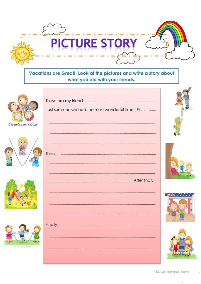 How To Write A Story For Kids Worksheet