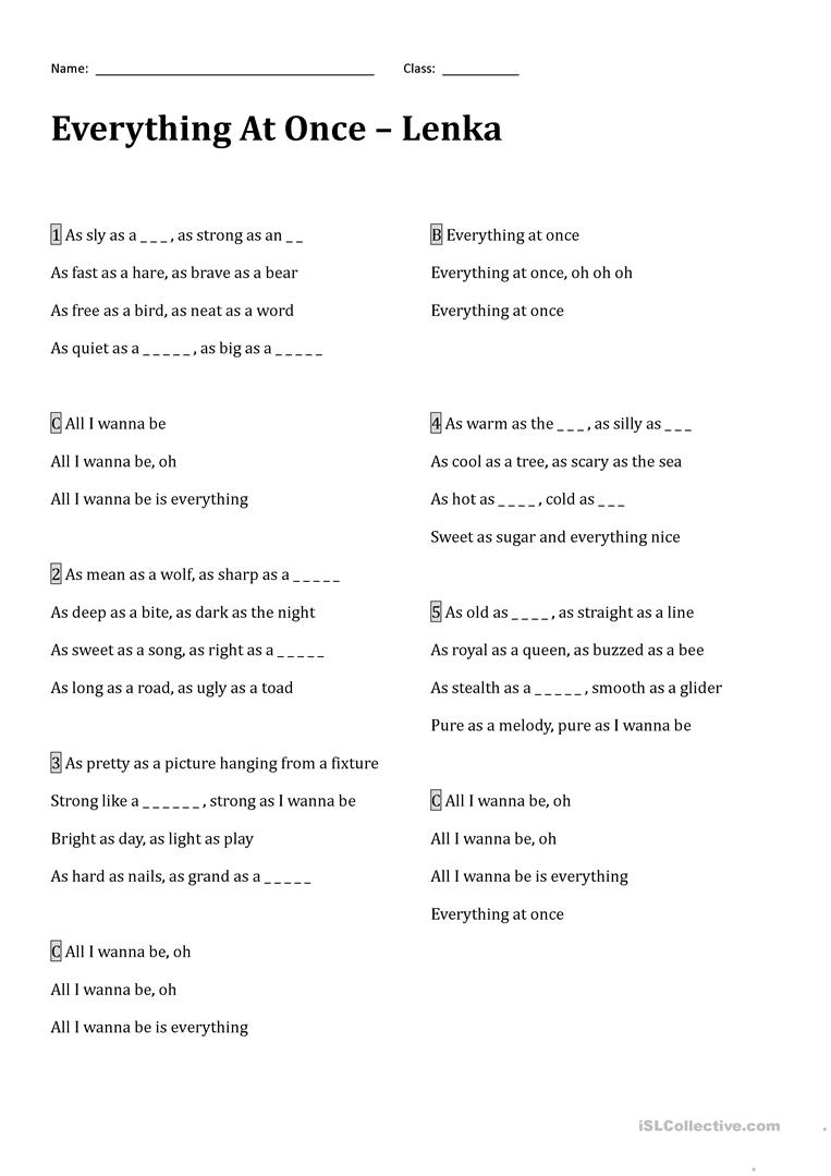 worksheet Poetic Devices Worksheet High School 18 free esl devices worksheets everything at once by lenka an introduction to poetic worksheets