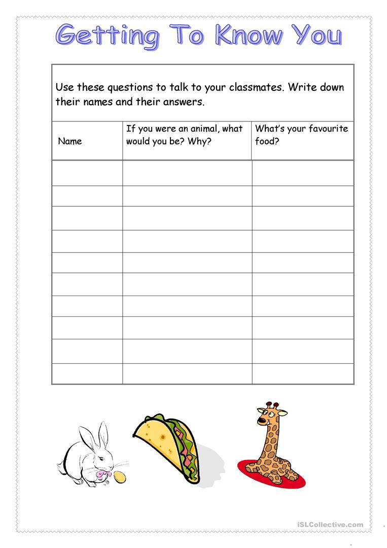 21 FREE ESL vocabulary review worksheets