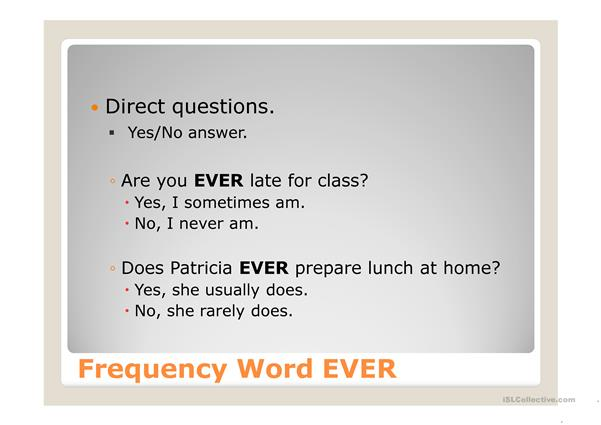 Frequency Words