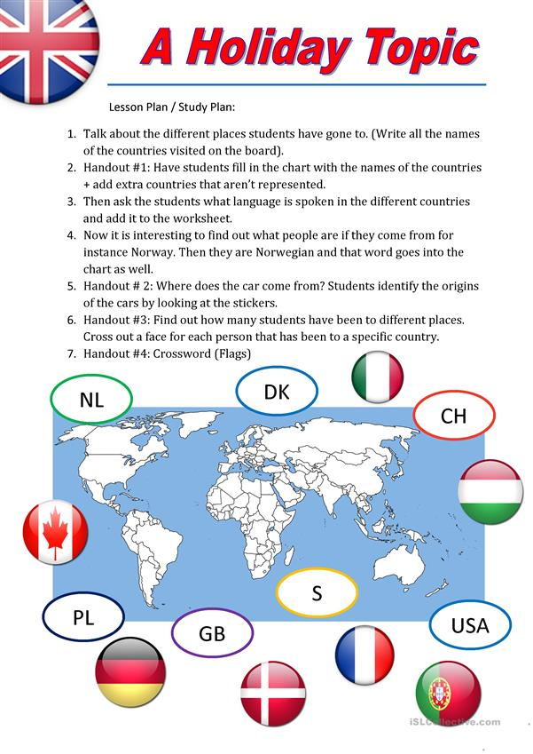 Nationality (Lesson Plan 5 pages)