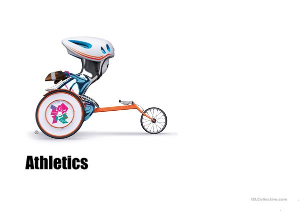 Paralympics  sports with Mandeville