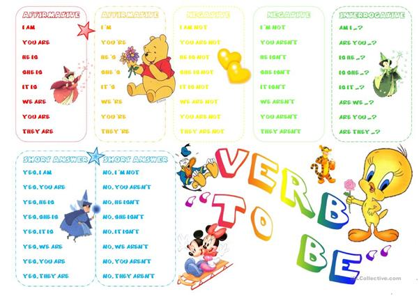 Present verb TO BE