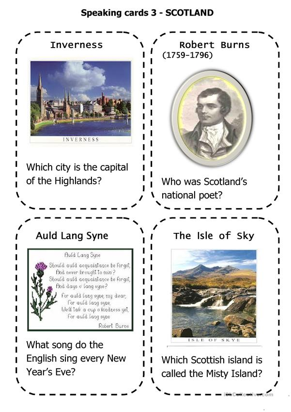 Scotland-speaking cards 3