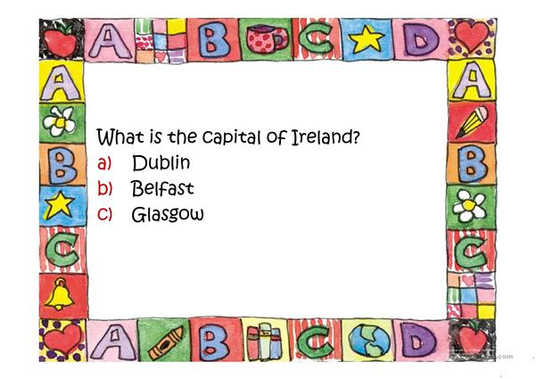 What do you know about Ireland?