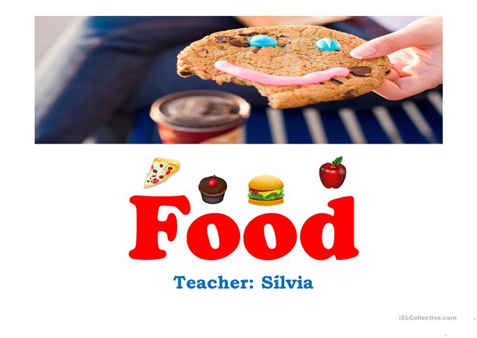 food introduction - ESL powerpoints