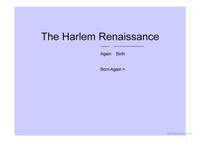 harlem by hughes essay Free harlem renaissance essay langston hughesbr br br nbsp nbsp nbsp  nbsp nbsp nbspthe poetry of langston hughes is an effective commentary on.