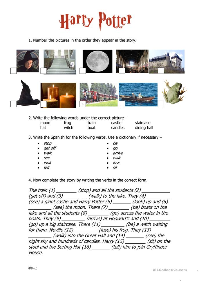 It is an image of Superb Harry Potter Activities Printable
