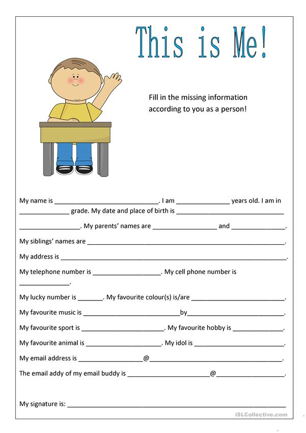 Getting to Know Your Students worksheet - Free ESL ...
