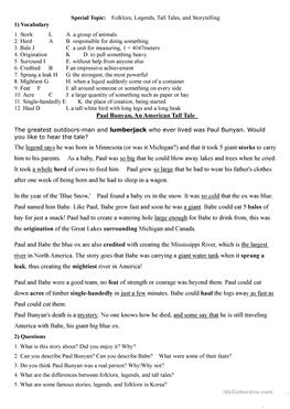 African Folk Tales Lesson Plans & Worksheets Reviewed by Teachers