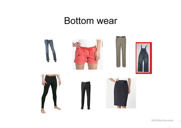 Fashion & Clothes PPT