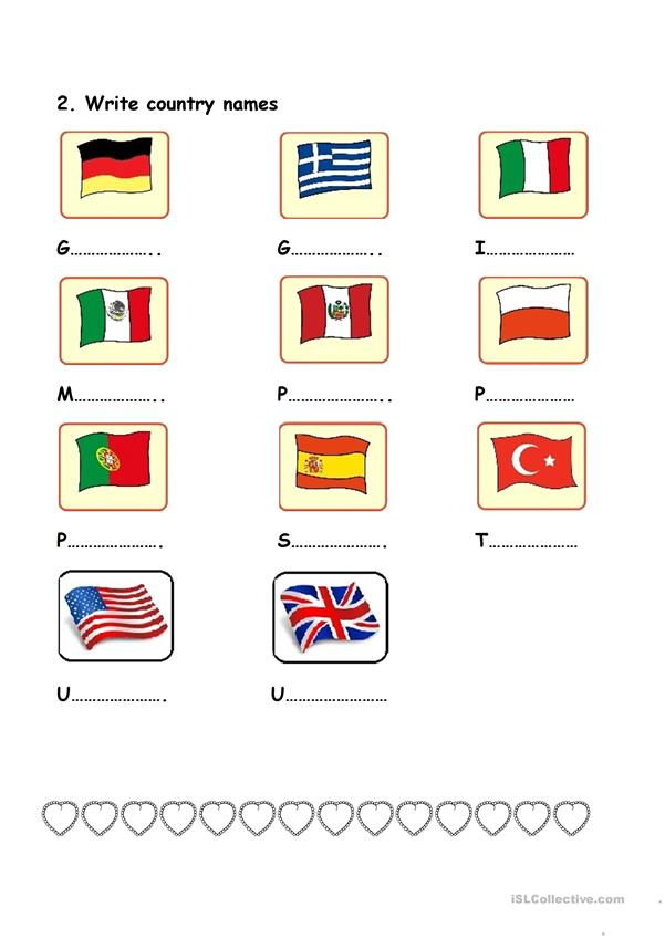 have got has got countries and flags