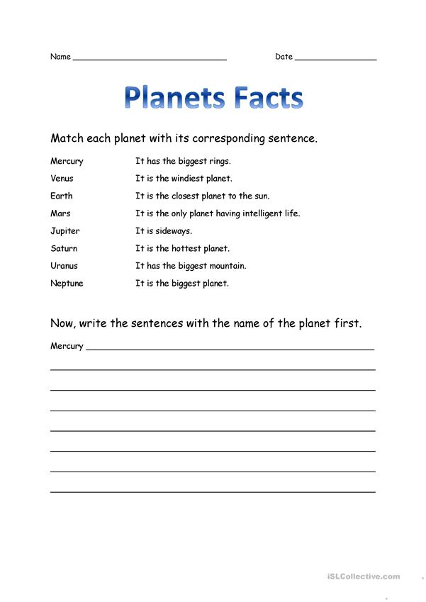 Planets Facts