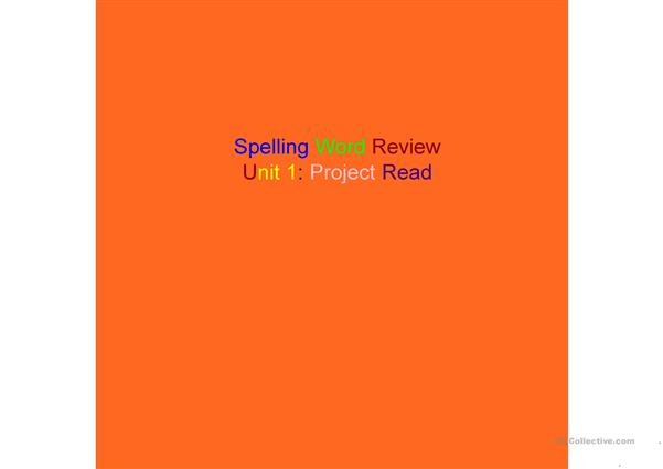 Spelling Review