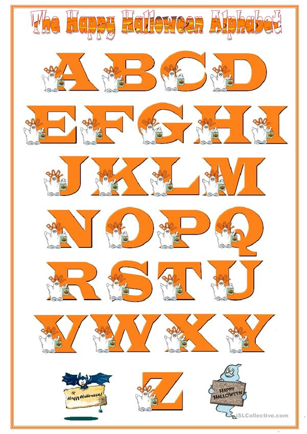 The English Alphabet