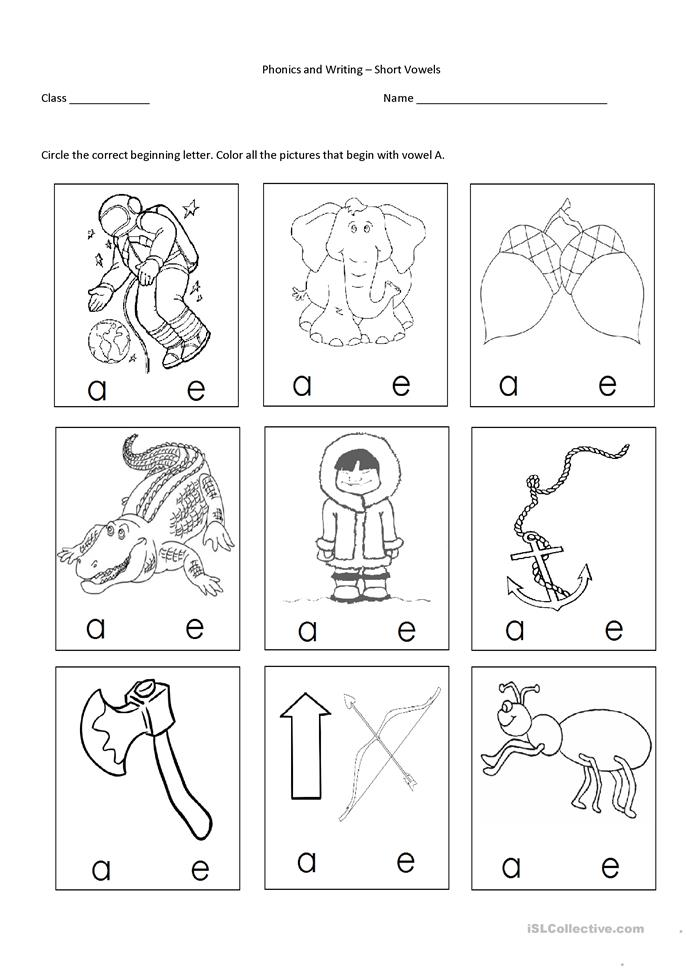 Letter Sounds Worksheets Esl - Intrepidpath