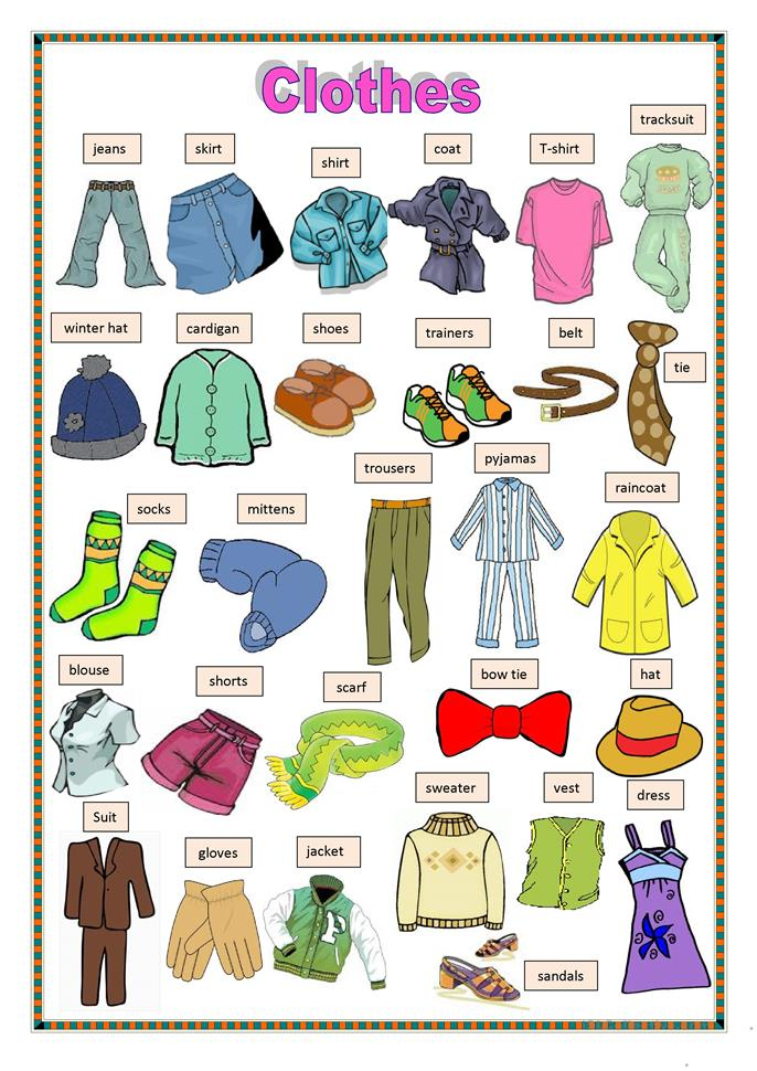 my article about clothing