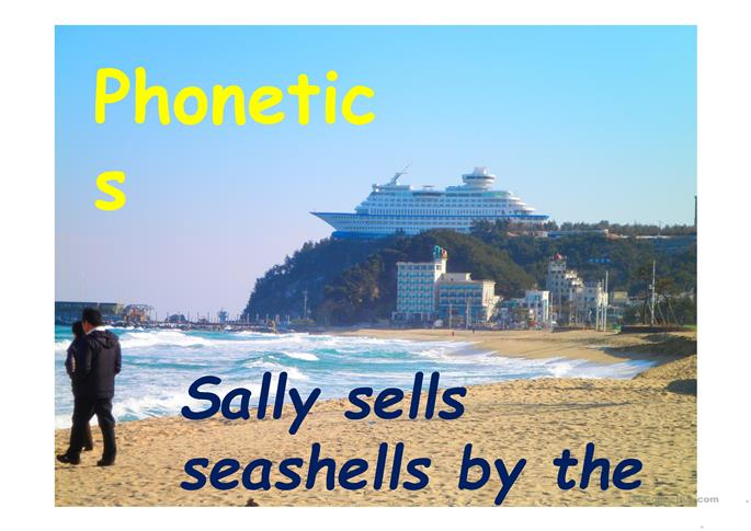 Minimal pairs phonetics PPT - ESL worksheets