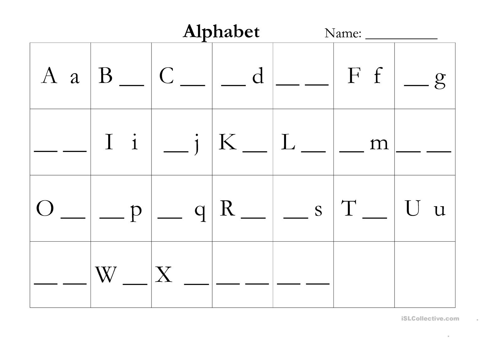 - ABC Assessment - English ESL Worksheets For Distance Learning And