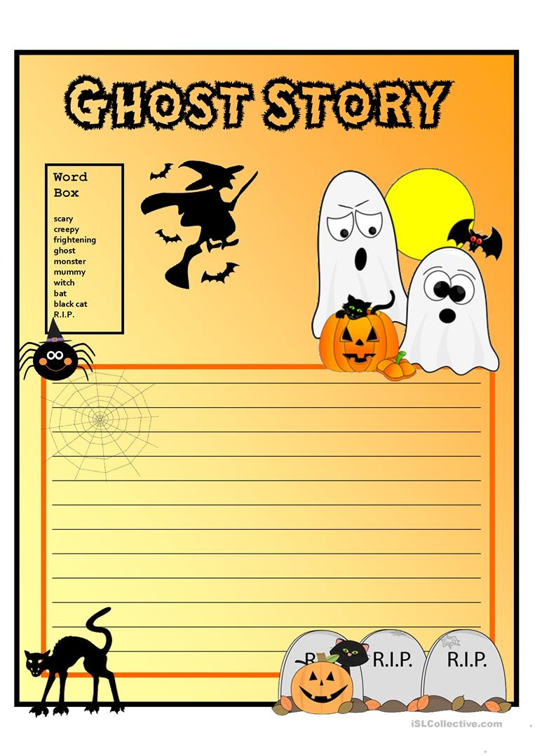 Writing a Ghost Story: Graveyard