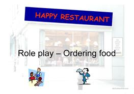 English ESL restaurant Powerpoint presentations - Most downloaded