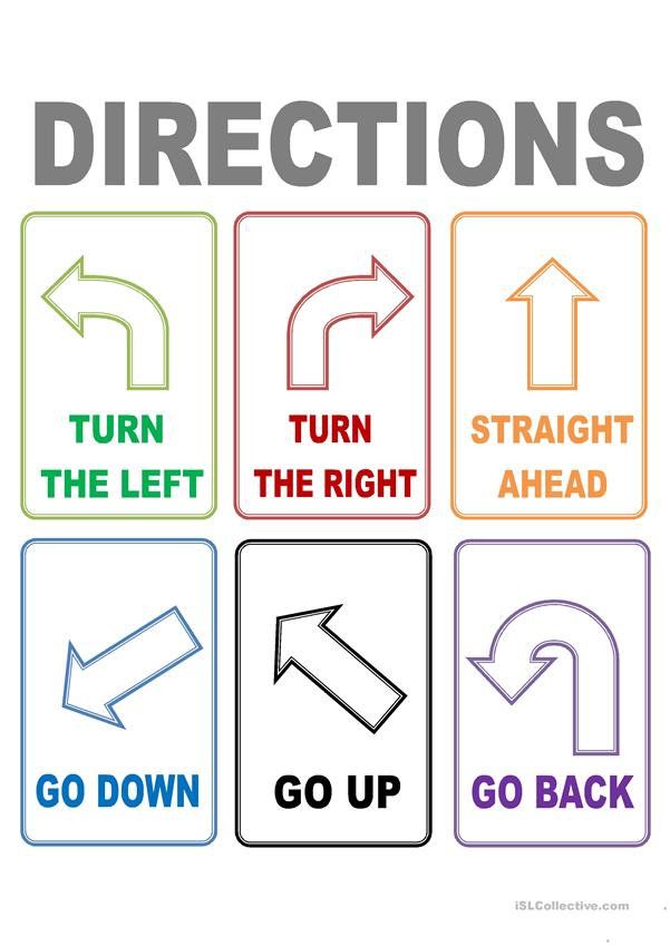 FLASH CARDS DIRECTIONS