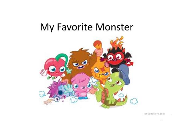 My Favourite Monster
