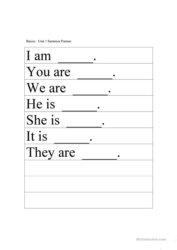 Pronoun Basics