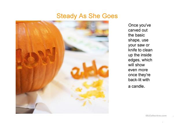 Quick guide ti pumkin carving