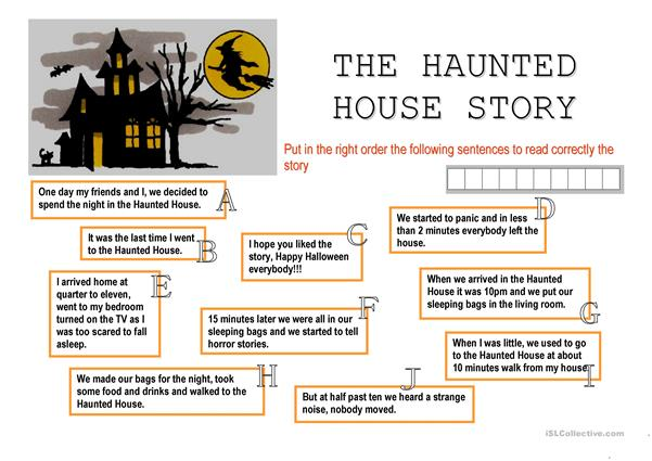 THE HAUNTED HOUSE STORY