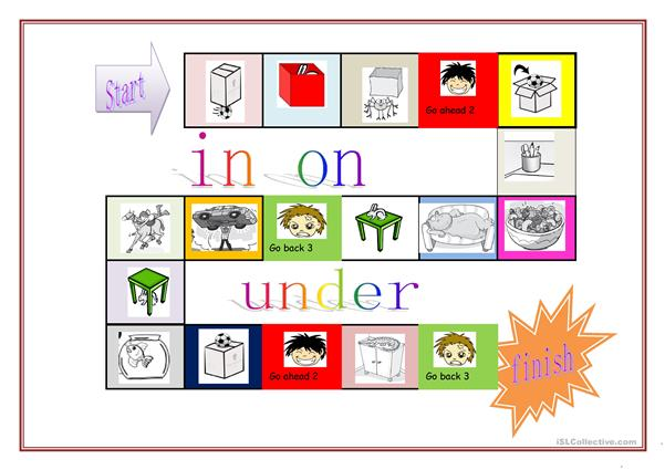 the prepositions game