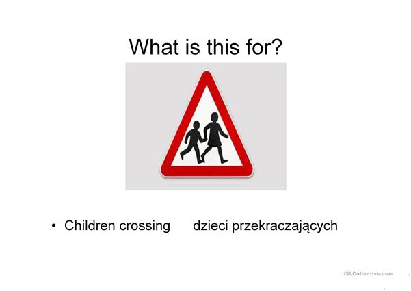 UK road signs